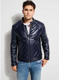 quilted look jacket