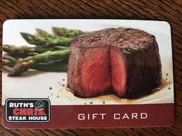 ruth s chris steak house 100 gift card imate shipping no exp date 1 of 1 see more