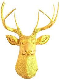 moose head wall mount faux animal heads faux moose head wall mount the gold deer head