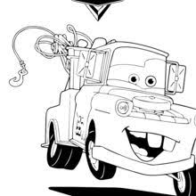 cars 2 coloring pages francesco. Perfect Coloring Mater The Tow Truck Coloring Page For Cars 2 Coloring Pages Francesco S