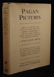 Wallace Rice Pagan Pictures 1927 Boni Limited HC / DJ Greek Poetry | eBay