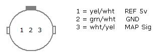 honda map sensor wiring honda image wiring diagram diy pgmfi diagnostics code 3 map on honda map sensor wiring