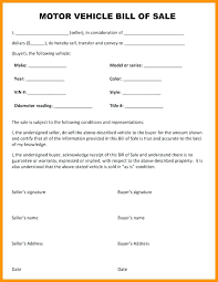 Bill Of Sale Texas Template Simple Bill Of Sale For Car Template Forms Pictures Blank