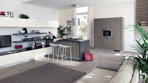 Modern Kitchen Living Room White Grey Modern Kitchen Sax Series With Grey Laminate Finish Of