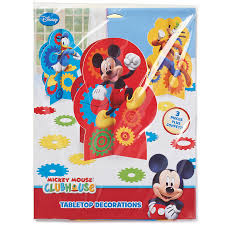 Mickey Mouse Clubhouse Bedroom Accessories Mickey Mouse Clubhouse Table Decorations Party Supplies Walmartcom
