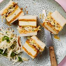 Meera Sodha's vegan recipe for tofu katsu sando with celeriac and apple  slaw | Vegan food and drink