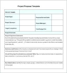 Cost Proposal Template Word Free Work Proposal Template