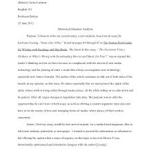 example of a rhetorical essay article critique example article