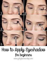 how to apply eyeshadow for beginners step by step natural makeup tutorial video s