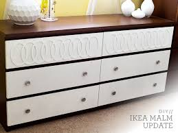 diy modern ikea tarva hack. DIY Ikea Malm Mid-Century Modern Dresser And How To Paint Laminate Furniture Diy Tarva Hack