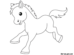 Baby Farm Animal Coloring Pages Free