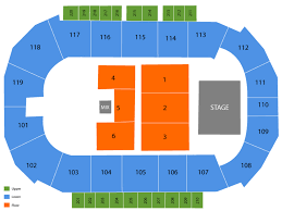 Showare Center Seating Chart And Tickets