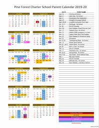 Calendar July 2019 To June 2020 July 2019 June 2020