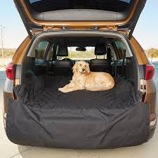 plush paws s waterproof quilted suv cargo liner black regular chewy com