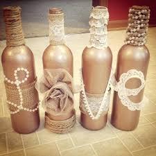 Wine Bottle Decorations Handmade Wine Bottle Decorations Diy Diy Wine Bottle Crafts Christmas 41