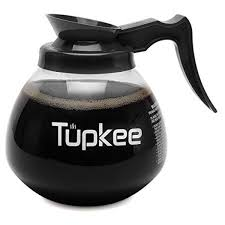 tupkee commercial coffee pot replacement restaurant glass coffee pots 12 cup decanter carafe 64