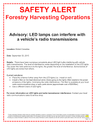 Led Lighting Sales Leads Safety_alert_led Lights Radio Interference Sept 30