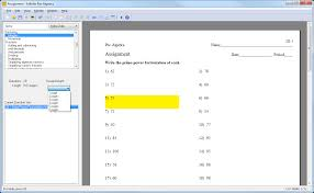creating an assignment kuta software choose the length