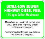 low sulfur deisel ultra low sulfur diesel fuel family rving magazine