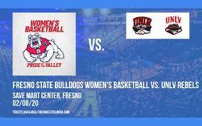 Fresno State Bulldogs Womens Basketball Vs Unlv Rebels