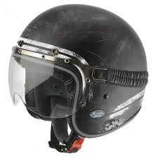 Airoh Garage Raw Matte Black Helmet