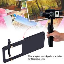 Camera <b>Switch Mount</b> Plate <b>Adapter Handheld Gimbal</b> Accessory ...