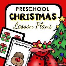Christmas Program Theme The Best Preschool Christmas Crafts Preschool Inspirations
