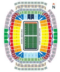 57 Timeless Reliant Stadium Seating Chart