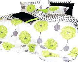 lime green fl duvet cover set queen duvet covers and duvet yellow and brown duvet covers