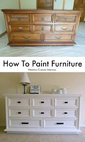paint for wood furnitureHow To Paint Furniture  Newton Custom Interiors
