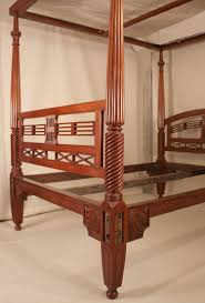 Queen bedroom furniture image11 Cheap Antique British Colonial Mahogany Four Post Queen Bed Gorkhalandinfo Antique British Colonial Mahogany Fourposter Queen Bed With Tester