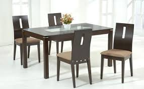 Popular of Glass Top For Dining Table with Glass And Wood Dining Table