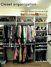 ... How To Organize A Small Walk In Closet For Two Organizing Ideas  Pinterest Bedroom No ...