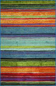 elegant mohawk rainbow stripe rug stock of rugs design