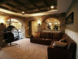 92146 basement ceiling options basement modern with stone archways and columns recessed lighting stone archways and columns basement lighting options