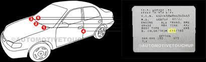 Isuzu Colour Chart Isuzu Touch Up Paint Automotivetouchup