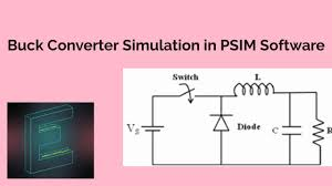 Dc Dc Converter Design Examples Buck Converter Design Formulae And Simulation Using Psim Software