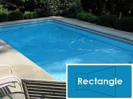 rectangle inground pools. Unique Pools Complete 16u0027x32u0027 Rectangle InGround Swimming Pool Kit With Polymer Supports On Inground Pools T