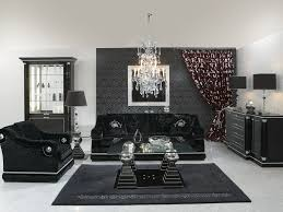 black and silver furniture. chic silver living room furniture ideas awesome black and a