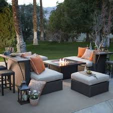 round gas fire pit table. Patio Furniture Around Fire Pit Table Chairs Portable Outdoor Round Gas Garden With D