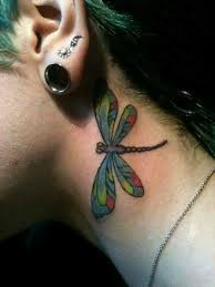 Dragonfly Tattoo On Neck Tattoo Designs Tattoo Pictures
