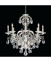 chandeliers arturo 8 light chandelier 8 light crystal chandelier shown in antique silver finish and