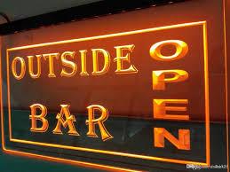 Outside Neon Lights Lb647y Outside Bar Pub Club Open Beer Led Neon Light Sign 24v Led Strip Blue Led Strip Lights From Dnchen 8 85 Dhgate Com