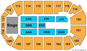 First Bank Center Seating Chart 7 Seating Charts 1st Bank Center Colorado Seating Chart
