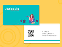 Freelance Graphic Design Ct Business Card Freelance Graphic Designer By Pushpanjali