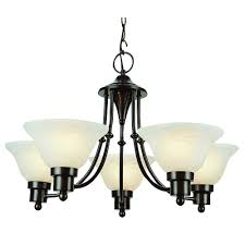 bel air lighting stewart 5 light alabaster chandelier with marbleized glass shades