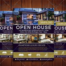open house flyers template instant download real estate listing flyer custom flyer template