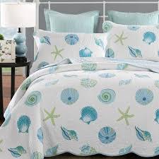 newrara seas beach bedding queen beach theme quilt