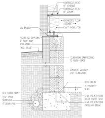 Insulated Crawl Space For Cold Climate Concrete Block With - Insulating block walls exterior