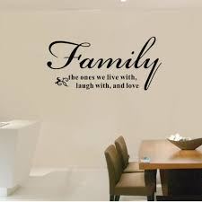 Meaning Of Family Quotes New Fantaboy True Meaning Of Family Quote Wall DecalSticker 48cm X 48cm